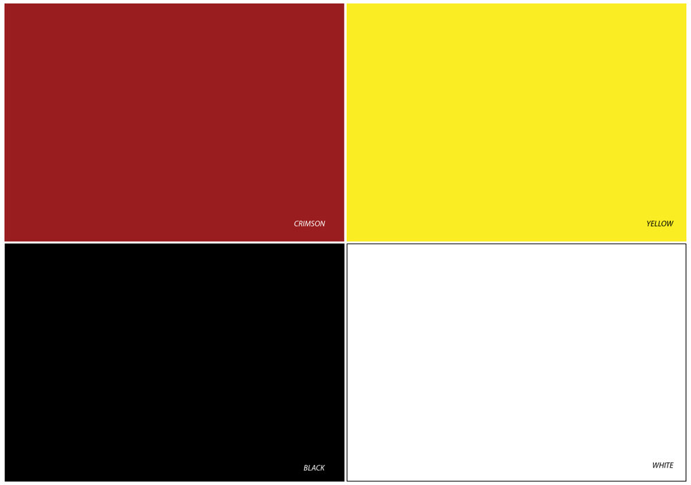 Standard Door Colors
