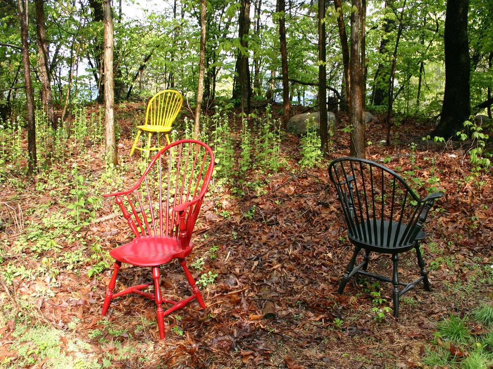 SHIMNA Windsor Chairs