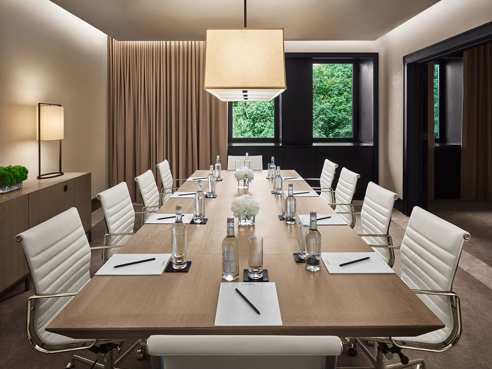Conference Table at Edition Hotel New York by Sentient Furniture