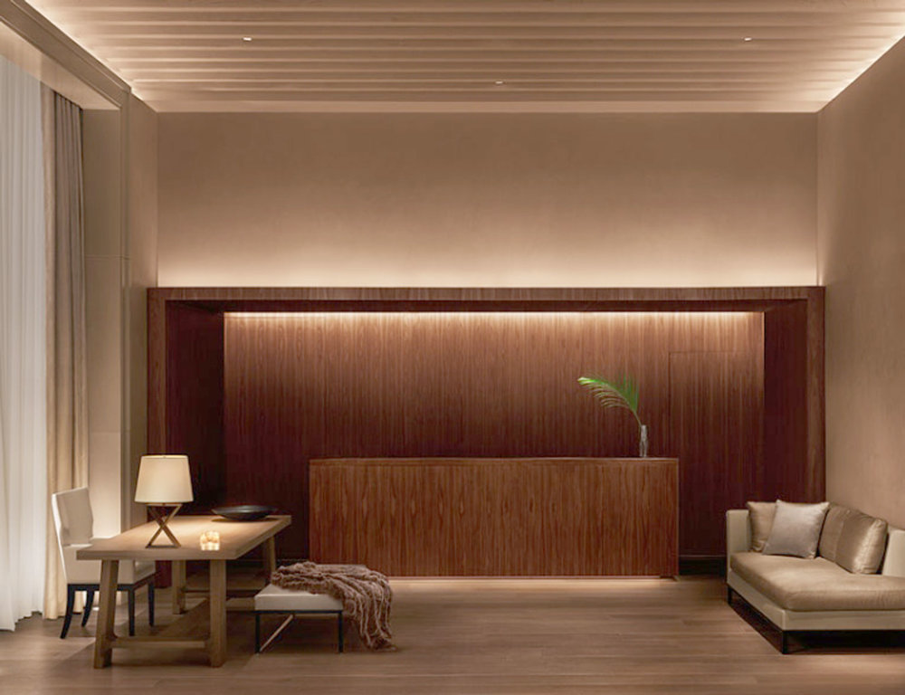 Lobby at Edition Hotel New York by Sentient Furniture
