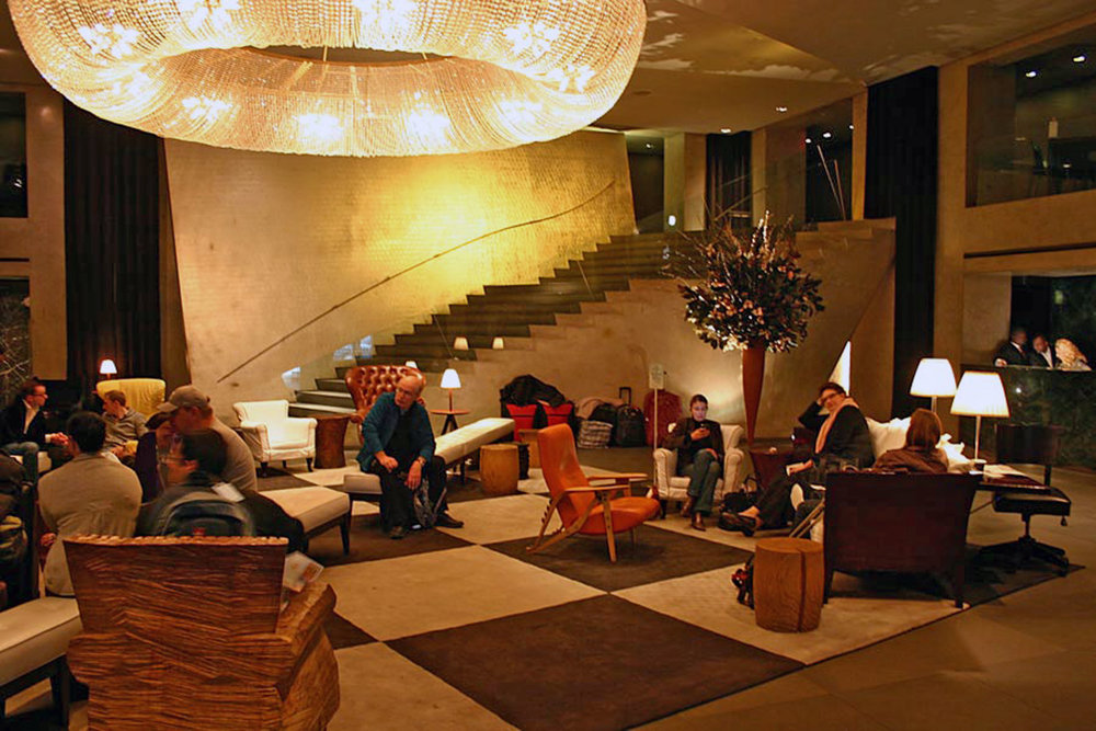 Some of the Lobby Furnishings at Paramount Hotel by Sentient Furniture