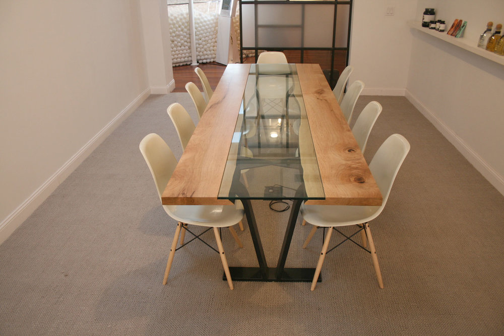 Maple Colorado Conference Table for Pearlfisher New York Office by Sentient Furniture