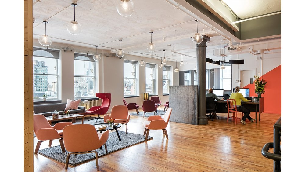 Custom Work for MPC New York Offices by Sentient Furniture