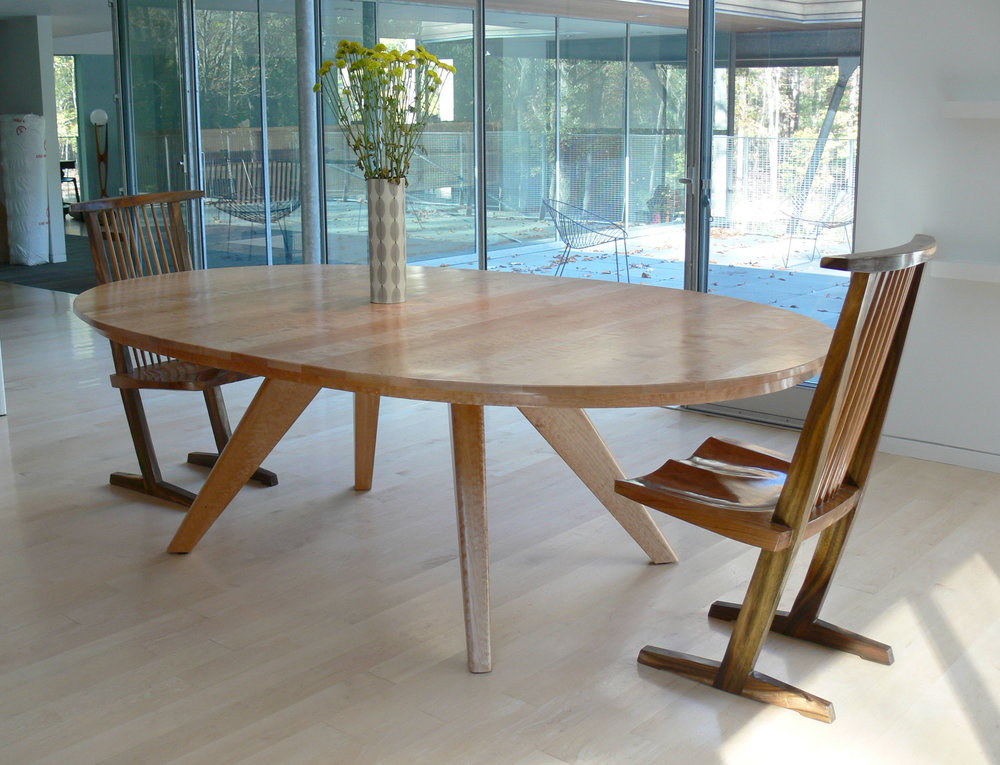 Copy of Maple Oval Dining Table