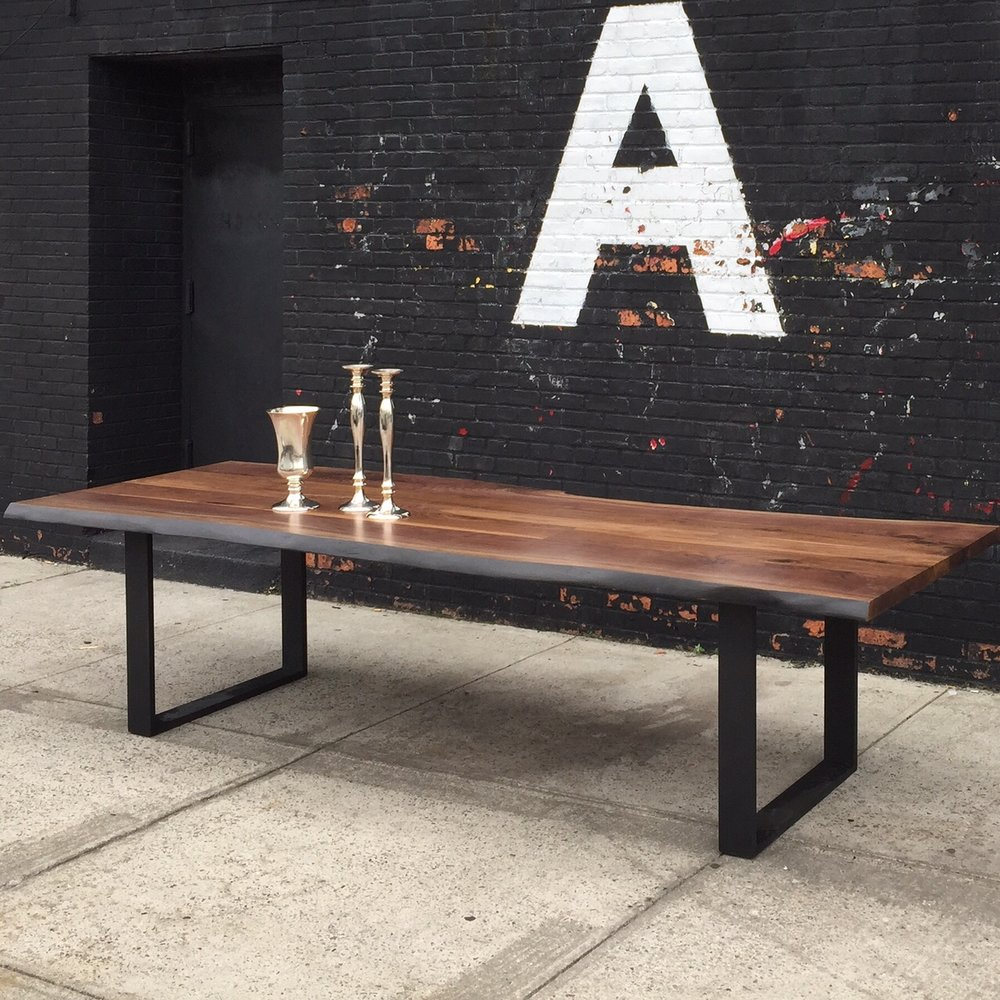 Signature Live Edge Table