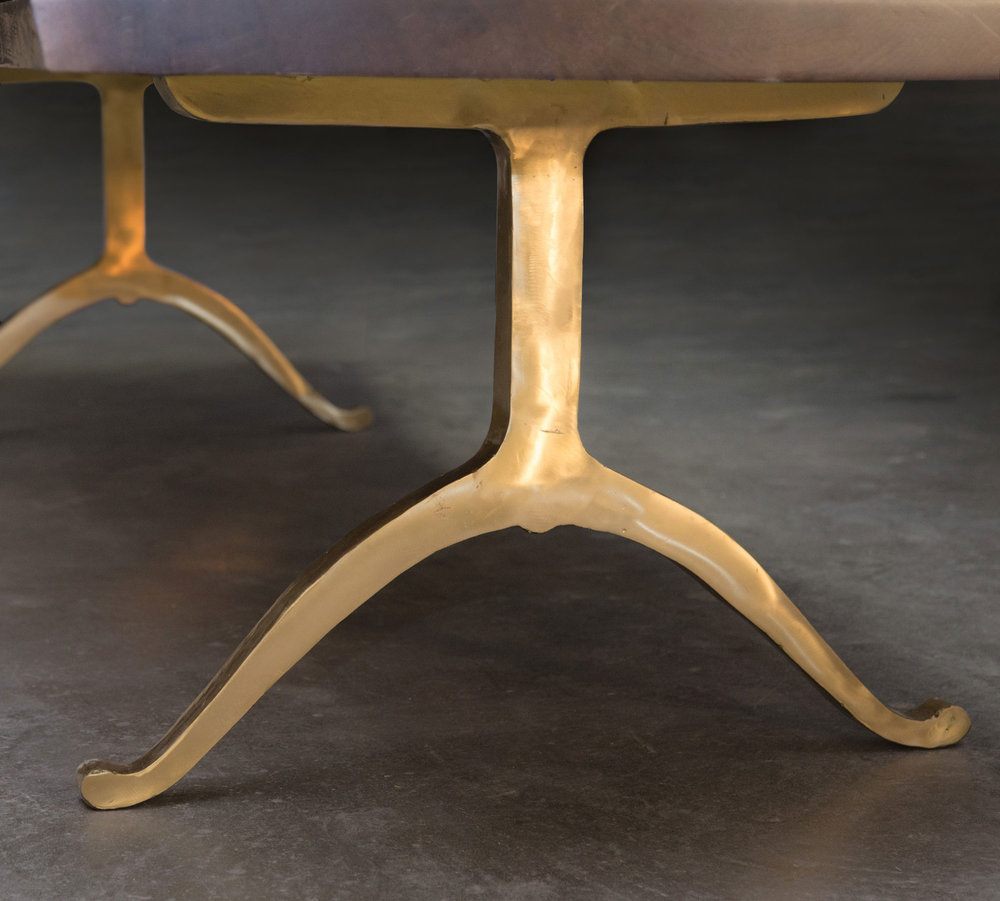 Brass Wishbone Legs