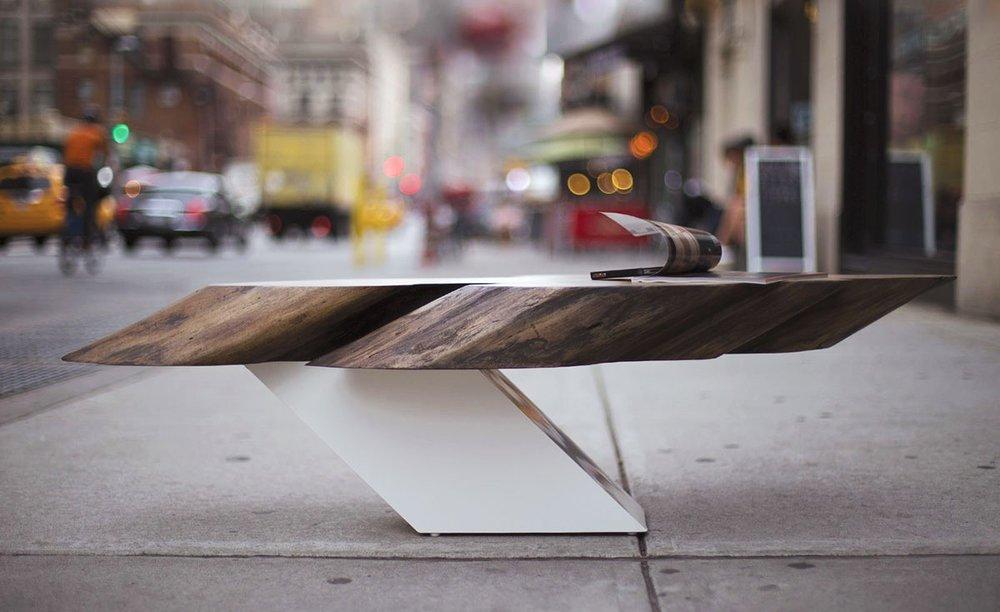 Zora Live Edge Coffee Table