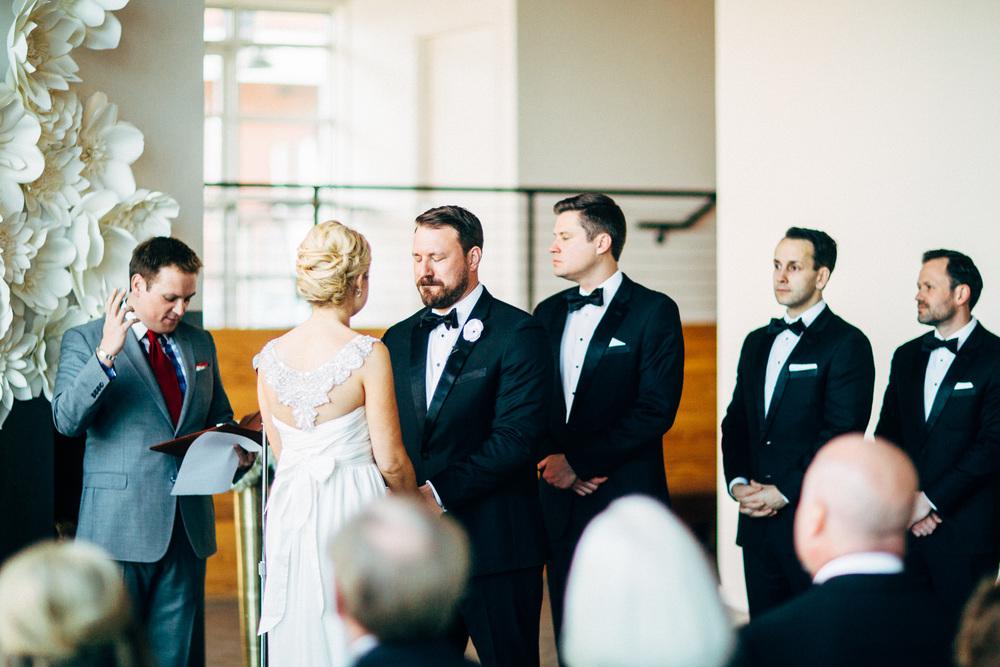 Kansas City Engagement & Wedding Photographer - River Market Event Place Ceremony & Reception