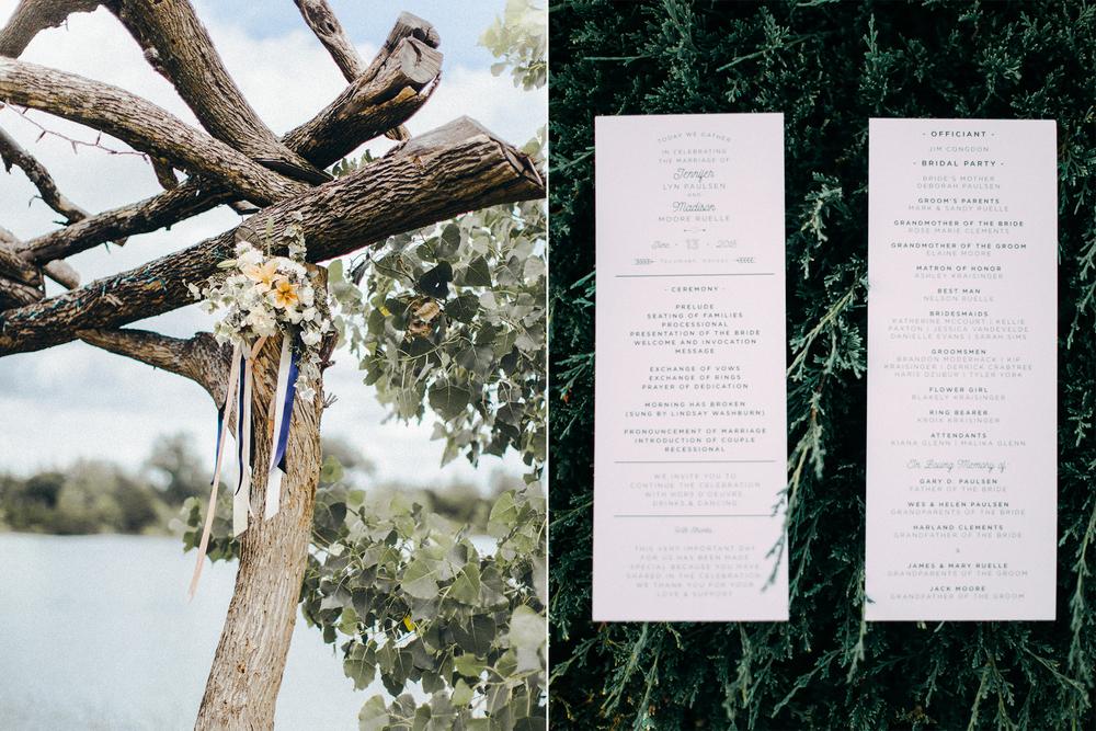 Madison Ruelle Jenni Paulsen Rusty Wright Creative Non-Traditional Photography Backyard Ceremony & Reception