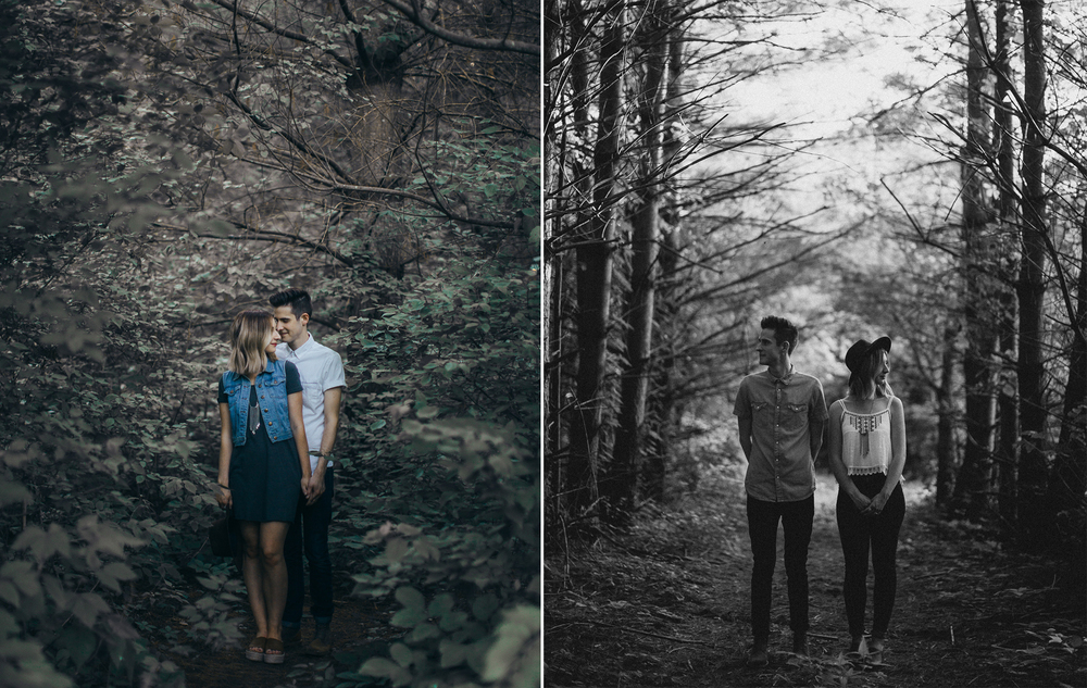 Lawrence & Kansas City Non-Traditional Creative Artistic Engagement & Wedding Photographer