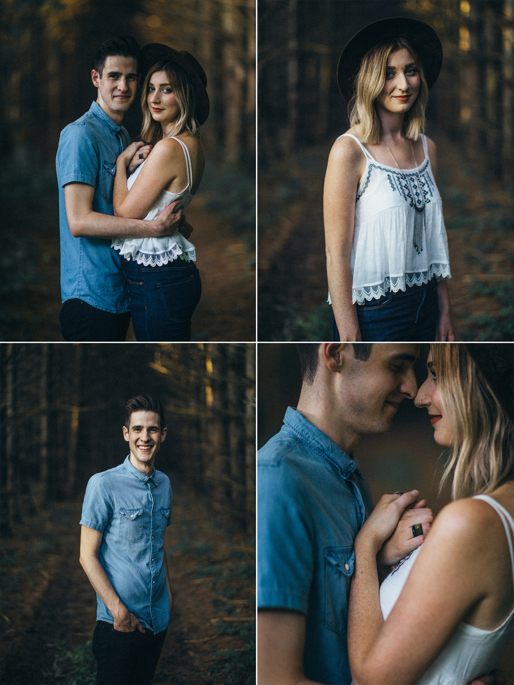 Addison & Rebekah Sauvan - Anniversary Portraits by Rusty Wright