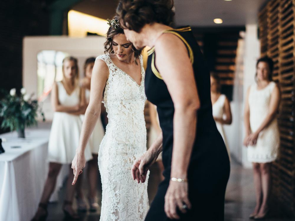 Brian Ide Kaley Tesdahl Rusty Wright, The Guild Creative DIY Wedding Ceremony & Reception