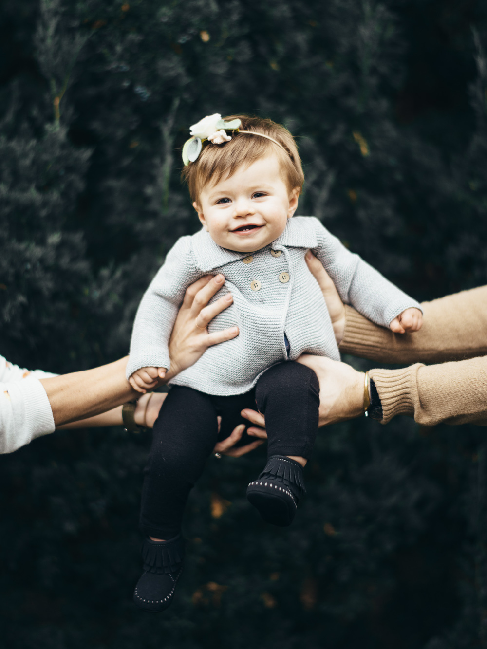 David & Kelsey Hall's family portraits,
