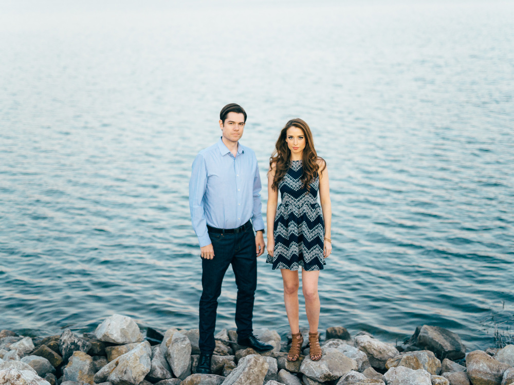 Justin Wilson & Staci Klinginsmith's Engagement Portraits