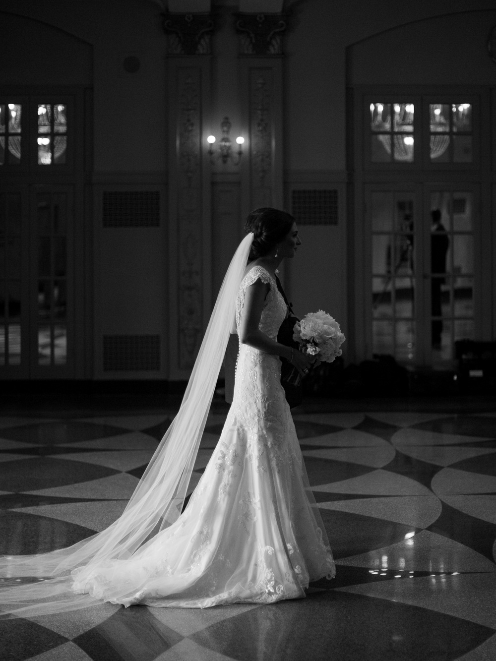 Kansas City Wedding Photographer at the Hilton President Kansas City
