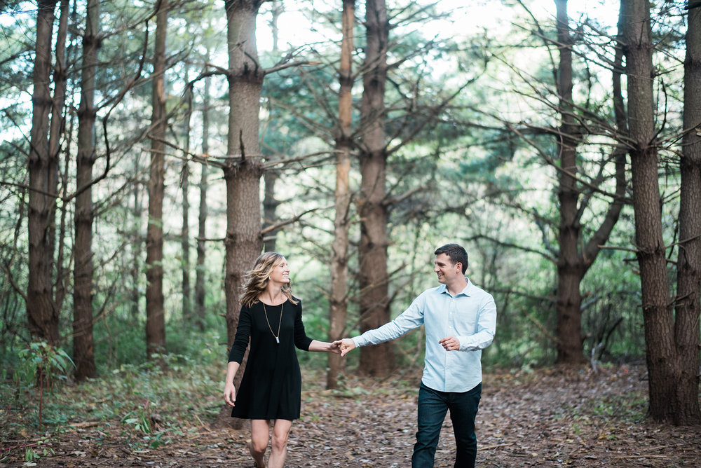 Adam Pollack & Alyssa Wise's Engagement Portraits by Kansas City Portrait & Wedding Photographer Rusty Wright.