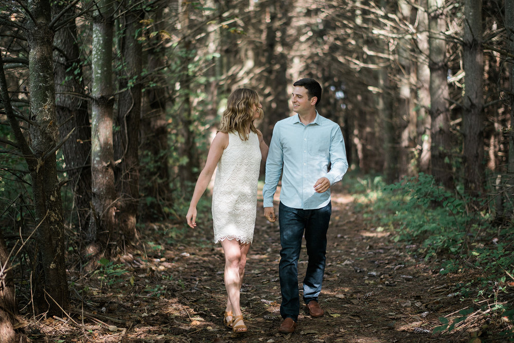 Adam Pollack Alyssa Wise Rusty Wright Kansas City Engagement Portrait Photographer