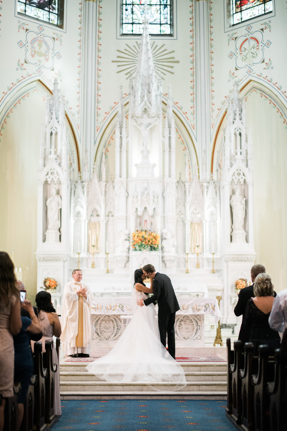 Redemptorist Church, President Hotel Wedding Ceremony and Reception