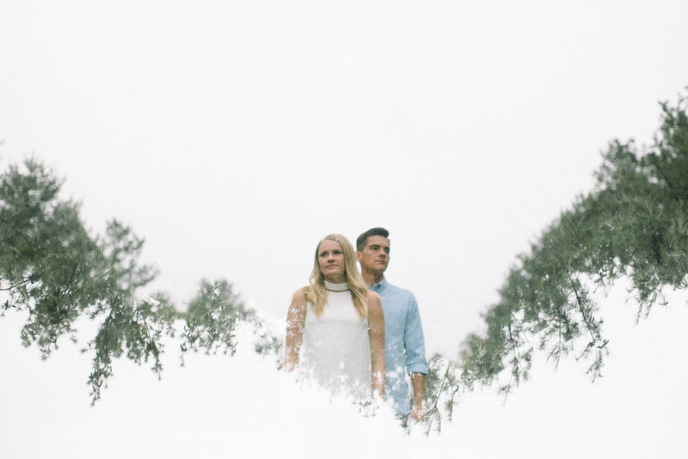 Andrew McClanahan Alex Hilliard Rusty Wright Wooded Woodsy Kansas City Engagement Portraits