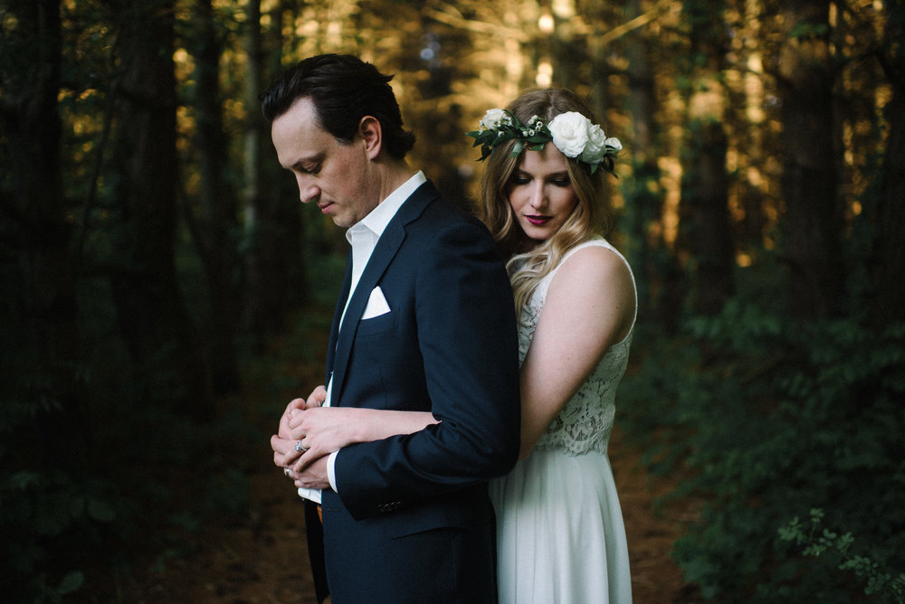 John Dollershell Alex Laton Rusty Wright Elopement Wedding Woodsy Photographs