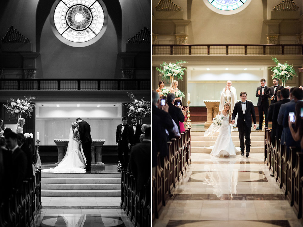 Johnny DeStefano Sarah Cascio Rusty Wright Wedding Photographs Cathedral of the Immaculate Conception