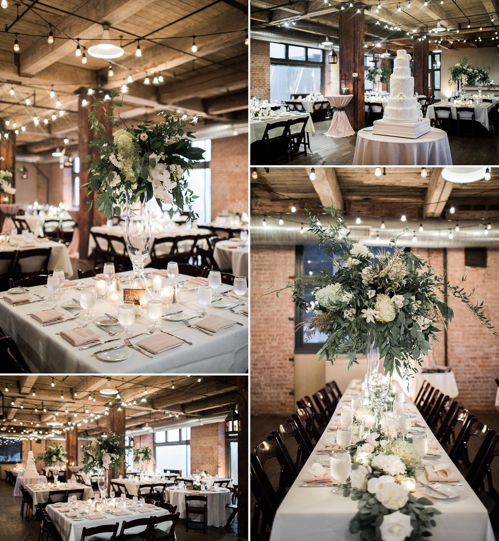 Johnny DeStefano Sarah Cascio Rusty Wright Wedding Photographs Hobbs Building Feasts of Fancy