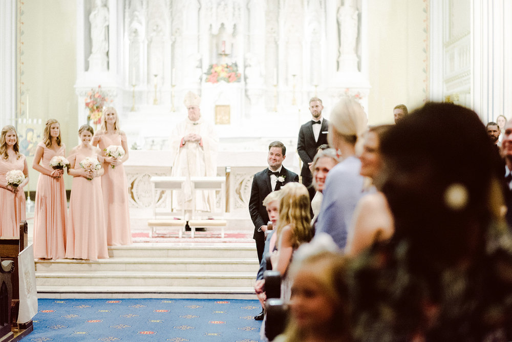 Indian Hills Country Club Redemptorist Church Wedding Henry Hodes Emily Thompson Photographer