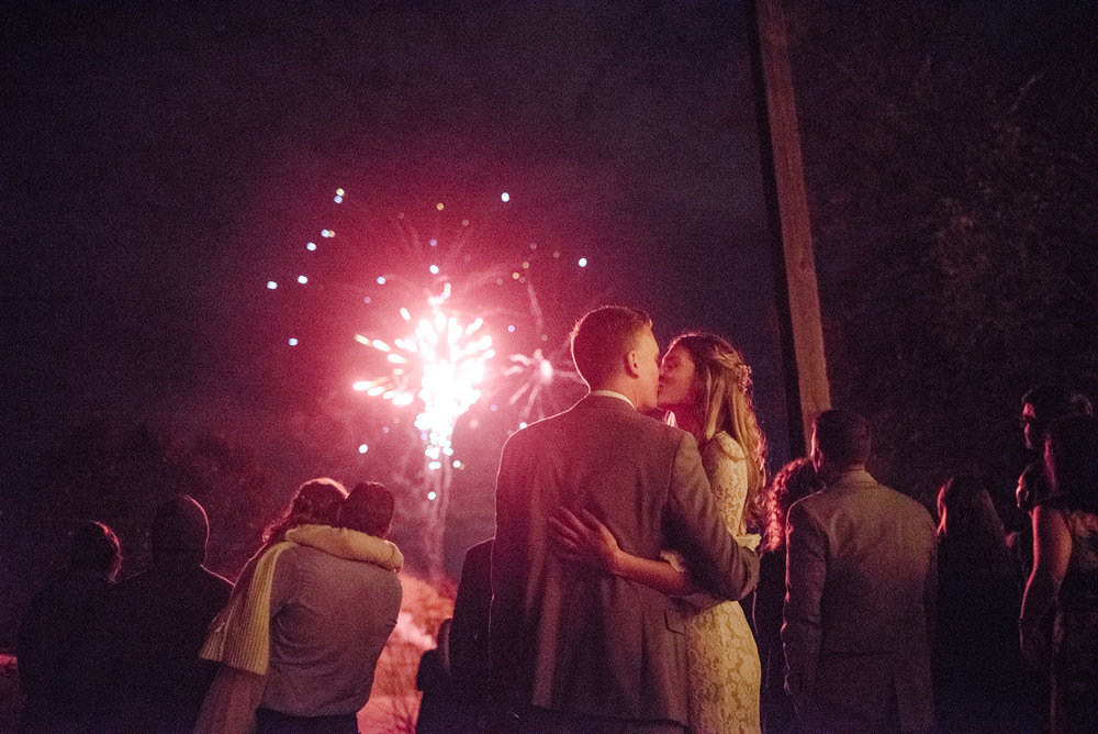 Kansas City Wedding Fireworks