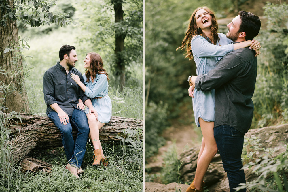 Kansas City Wedding Engagement Portrait Photographer