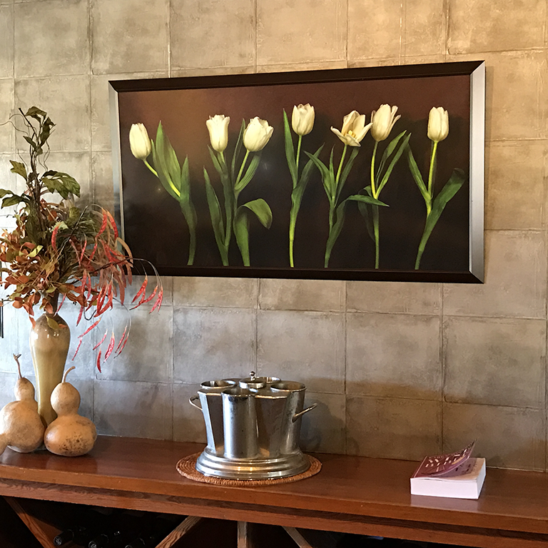 Conversation 1 (White Tulips)