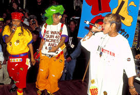 TLC Cemented The Baggy Overall Style In 1990s As Well Bright Colors And Insane Prints Aaliyah Rocked Also Tomboy