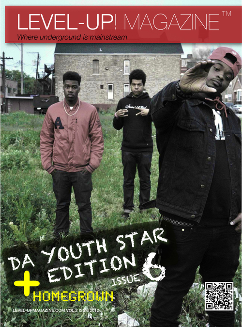 LEVEL-UP! MAGAZINE ISSUE 6 | THE YOUTH STAR EDITION