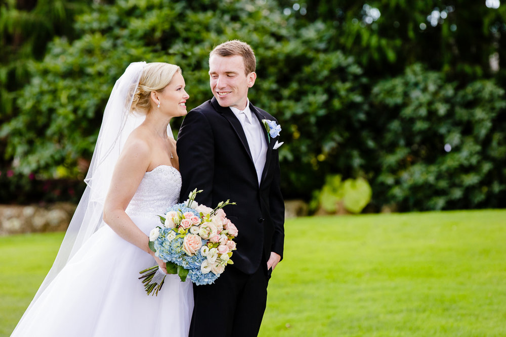 Kevin & Kirsten - Danielle was recommended to my husband and I from Kirkbrae Country Club, our reception venue, and we are so glad we went with her!  Her professionalism, attention to detail, ability to keep everyone on schedule made taking pictures for as long as we did a seamless process the day of our wedding.