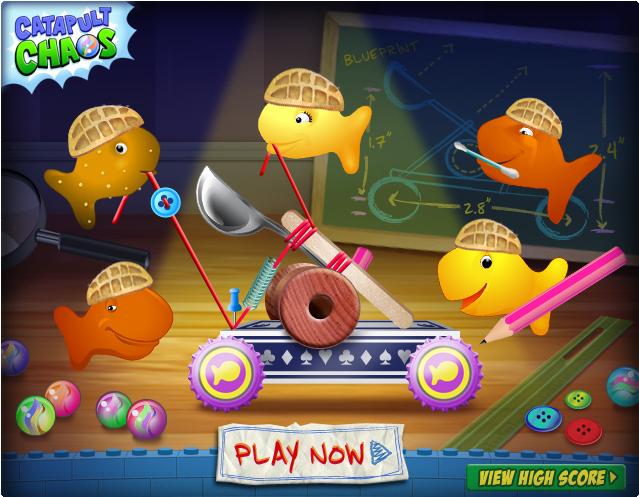 gold fish fun.com games