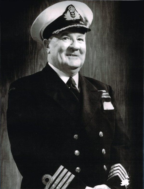 Captain (Navy) Reginald Jackson, OBE, VRD, RCNR
