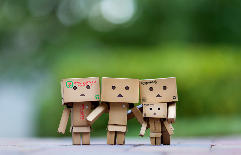 The Danbo Family Portrait