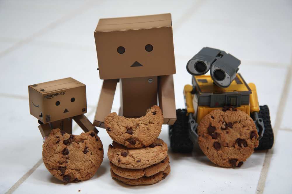 Day 203:365 - How Did Danbo Get More Cookies?.JPG