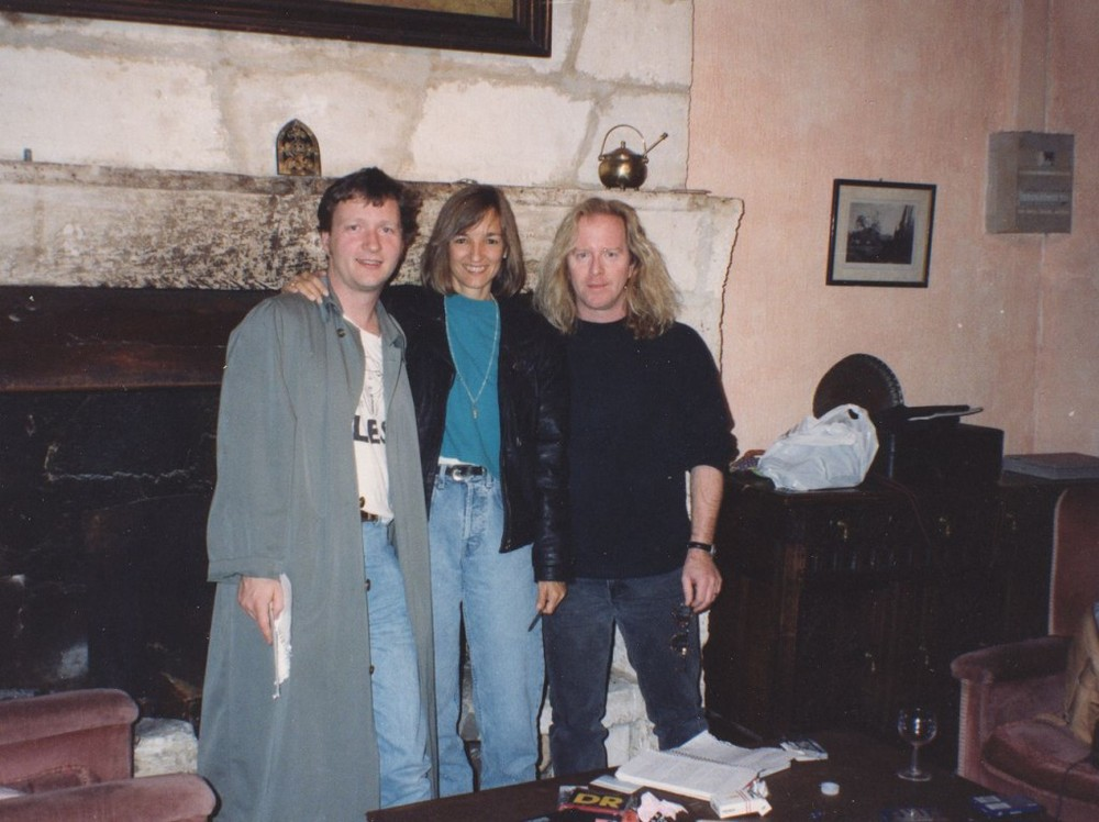 Glenn Tilbrook, Kye Fleming and myself at the very first Castle retreat.