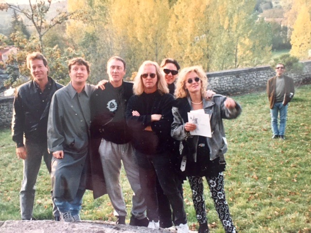 The 92 Castle    Wyatt Easterling, Glenn Tilbrook, Dennis Greaves, Myself, Dan Graff, Unknown? and Henry Patovani.