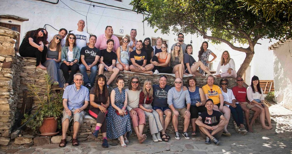TSA Songwriters Retreat Malaga, Spain 2016