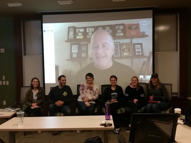 """Mark Cawley teaching via Skype is like having him in the classroom"""