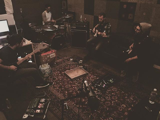 Our new home is treating us well; new ideas are flowing, new songs are being born