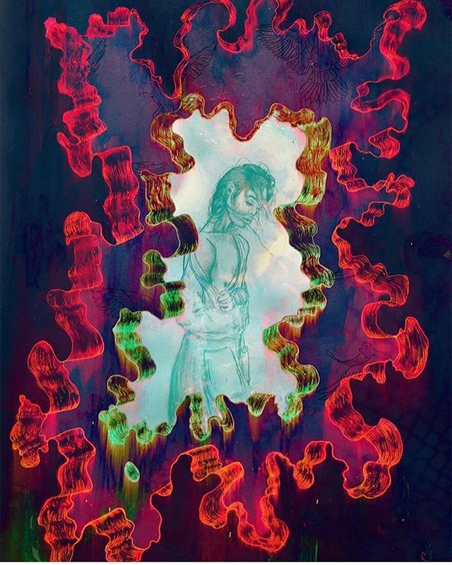 """Marvin Gaye - I Want You"" ____________________________________________________✍️ #DigitalArt #Art"