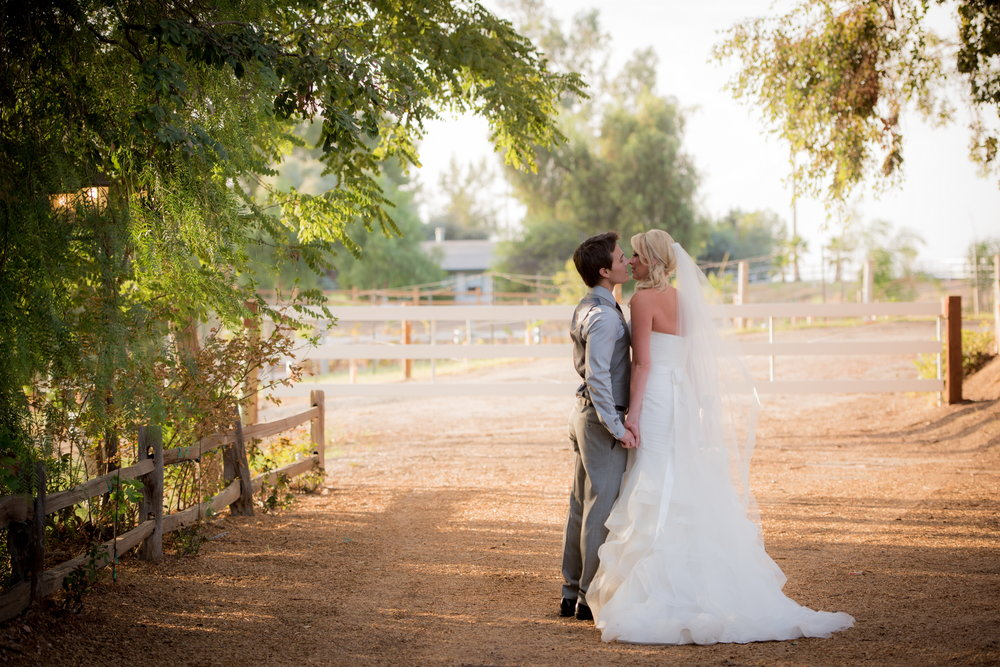 Courtney and David at Twin Oaks Meadows