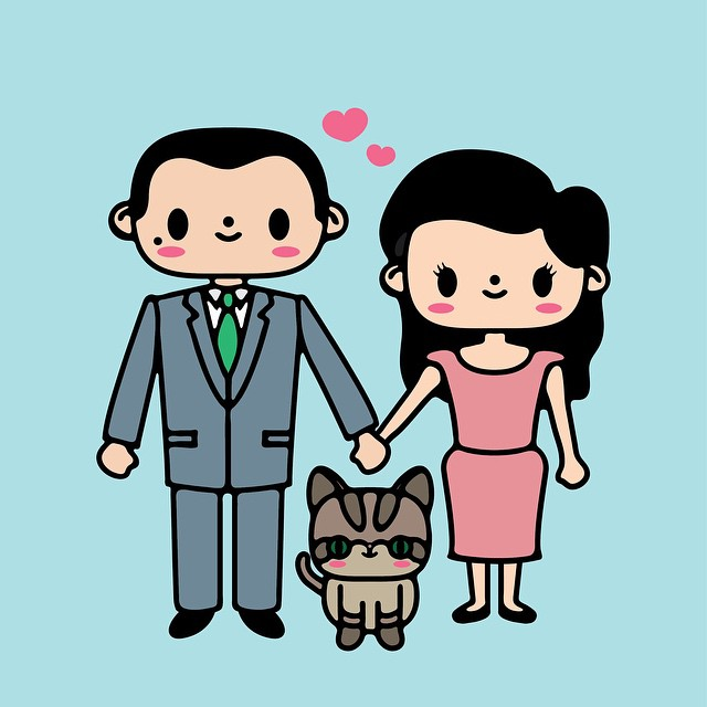 Wholesome family portraits designed by TeslaCake, want one also? Stay tuned. #tesla #cake #teslacake #family #adventures #kawaii #cute #cats