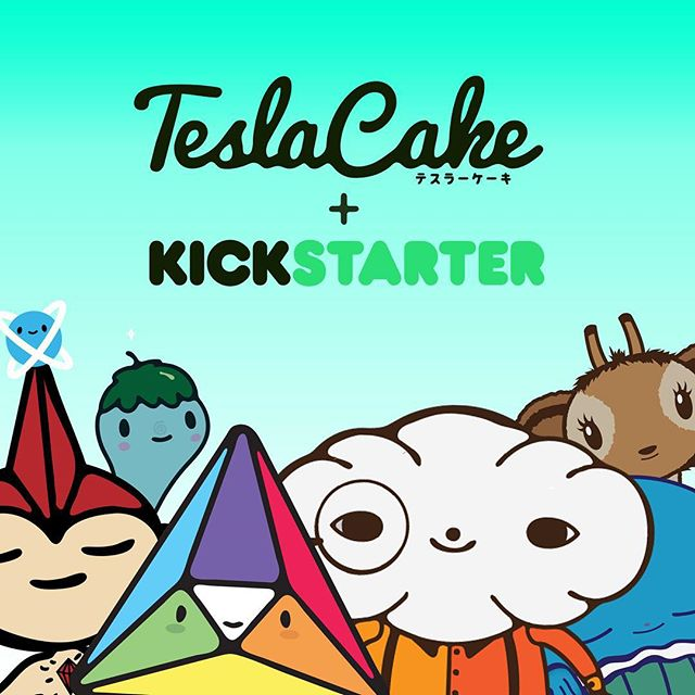 We at @TeslaCake want to produce a new line of apparel, button and vinyl stickers for you to love but we need your help! Check out our @kickstarter and lend us your support. Link in the bio.😁 #teslacake #kickstarter