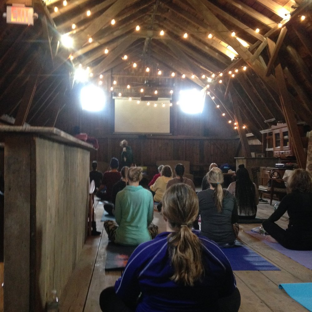 Yoga at Orange County Distillery at Brown Barn Farms  Sunday, January 7th  11am-12pm  $20 per person   Join Kelly Scotto from The Body Art Barn for an all-level 60 minute yoga class. The class will be held upstairs in our loft.  Reserve your spot online, space is limited. With the purchase of a ticket, you get your choice of beer, wine, or a yoga-inspired cocktail after class.  BYOM (Bring your own mat!)  Please arrive 10-15 minutes early to check in and get settled before the class begins.   Maximum 25 people
