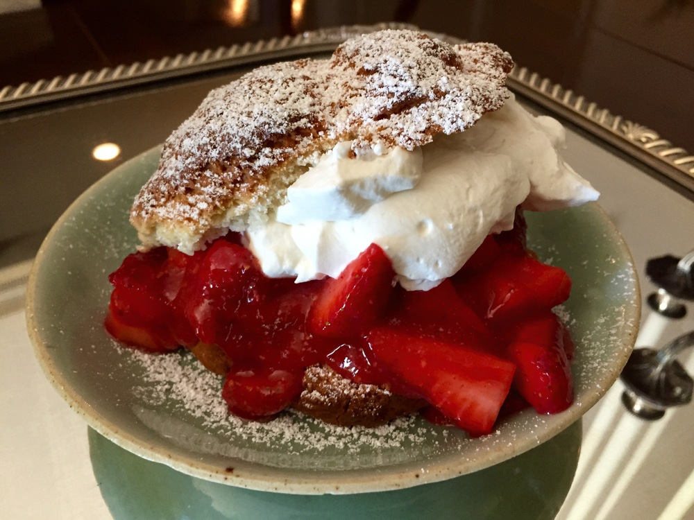 Scotty's Strawberry Shortcake