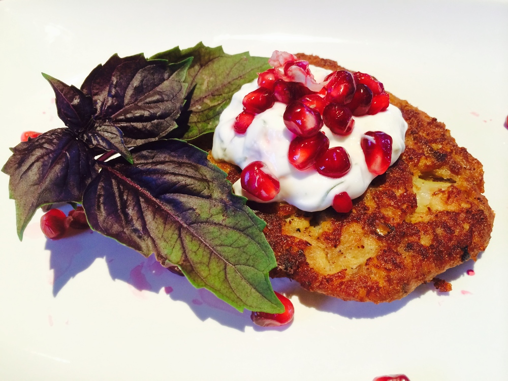 Cauliflower & Quinoa Fritter