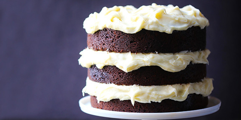 "Mom's Mayonnaise cake with the addition of ""Black Onyx Cocoa"" is incredible!"